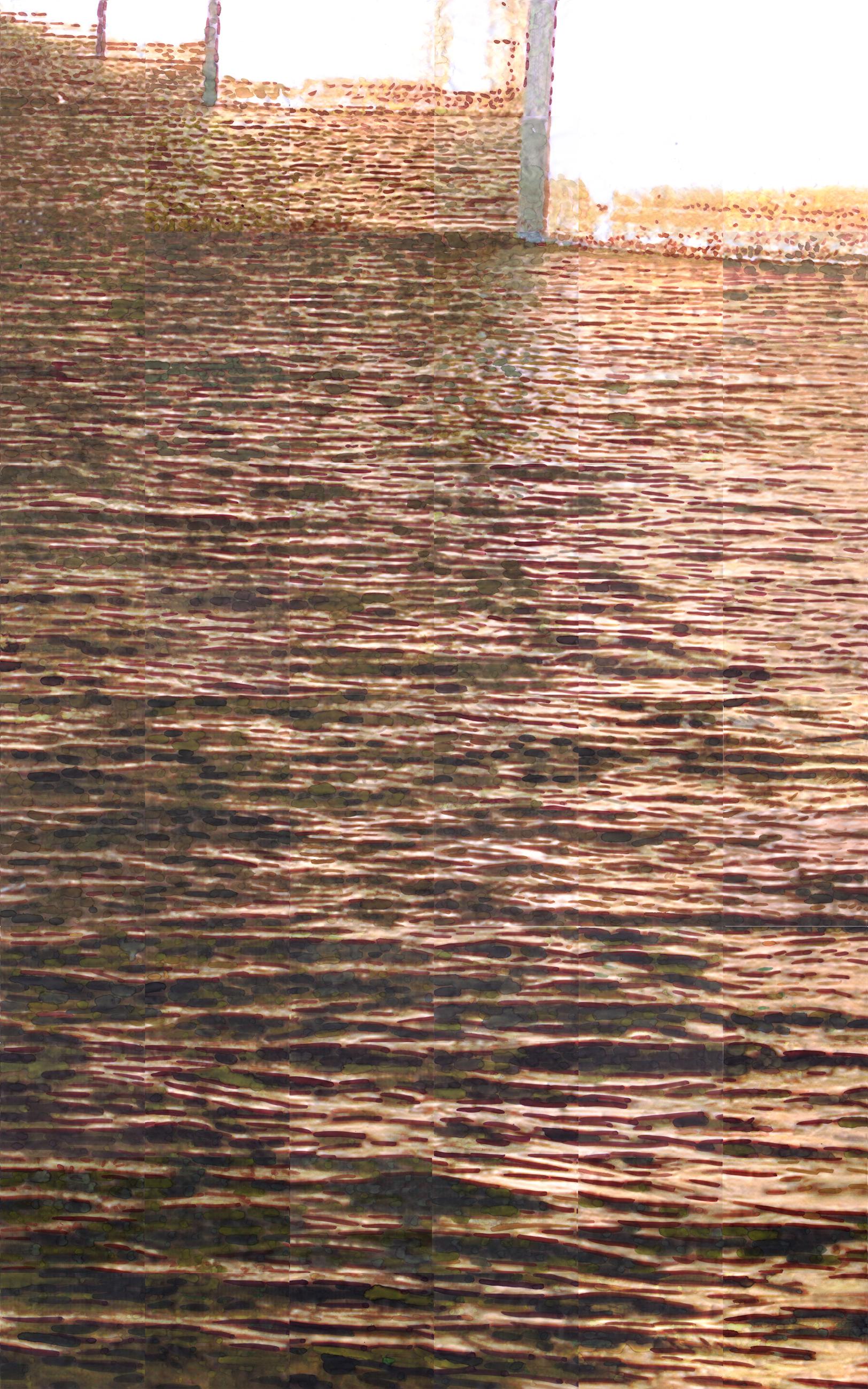 한강에 다가가다 (부분2)