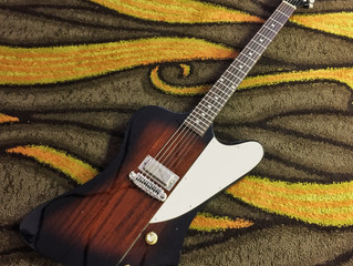 For Sale: 1980s Greco Firebird I in Vintage Sunburst