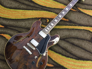 For Sale: 1978 Greco SA550W ES-335 guitar in Walnut finish