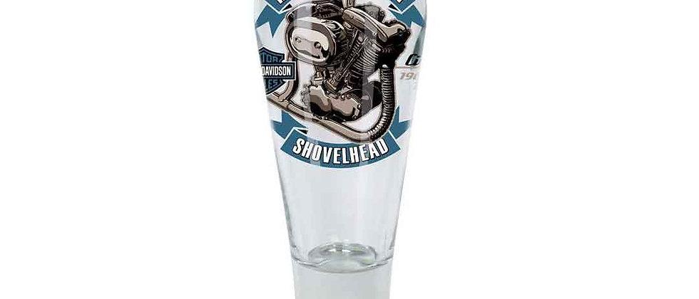 Harley-Davidson® Engine Series Pilsner Set - Shovelhead, 14 oz.