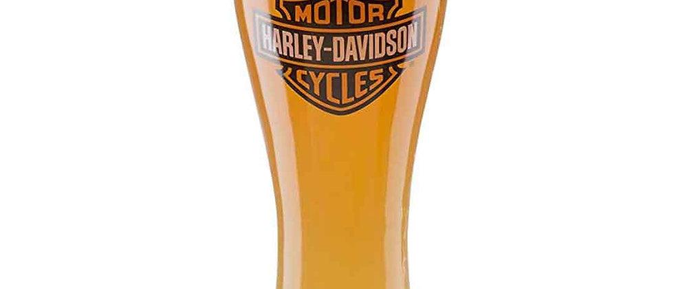 Harley-Davidson® Core Bar & Shield Logo Pilsner Glass