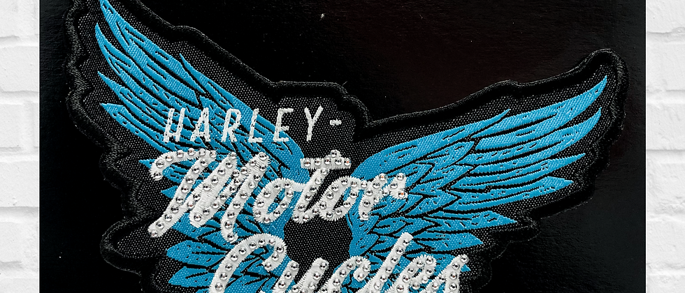 MOTOR CYCLES HARLEY-DAVIDSON PATCH