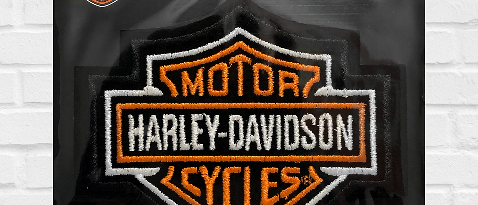 BAR AND SHIELD HARLEY-DAVIDSON PATCH