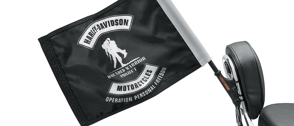 FLAG,WOUNDED,UPRIGHT MOUNT