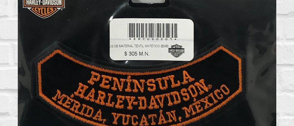 PARCHE PENÍNSULA HARLEY-DAVIDSON OFICIAL