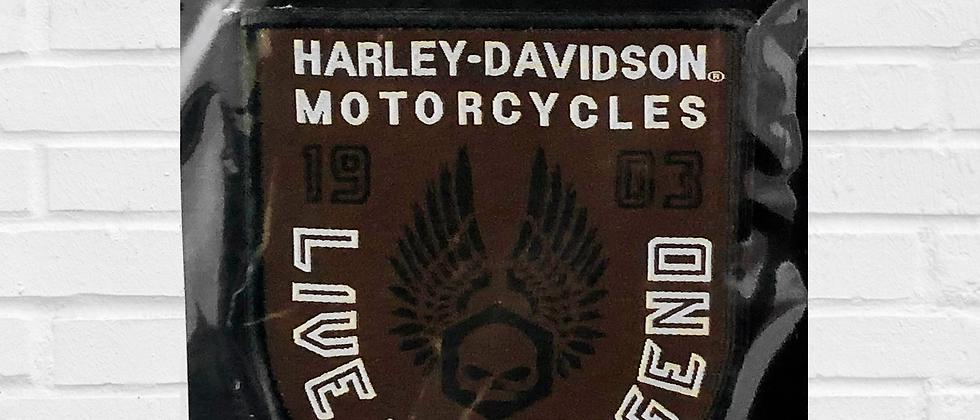 LIVE THE LEGEND HARLEY-DAVIDSON PATCH