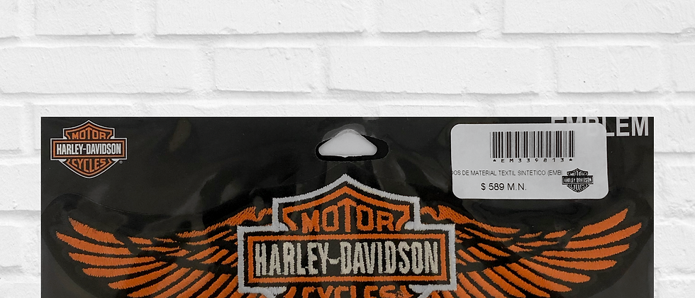 HARLEY-DAVIDSON WINGS PATCH