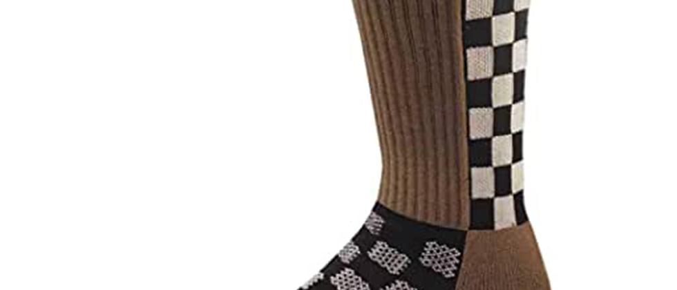 Checkered Vented Riding Socks