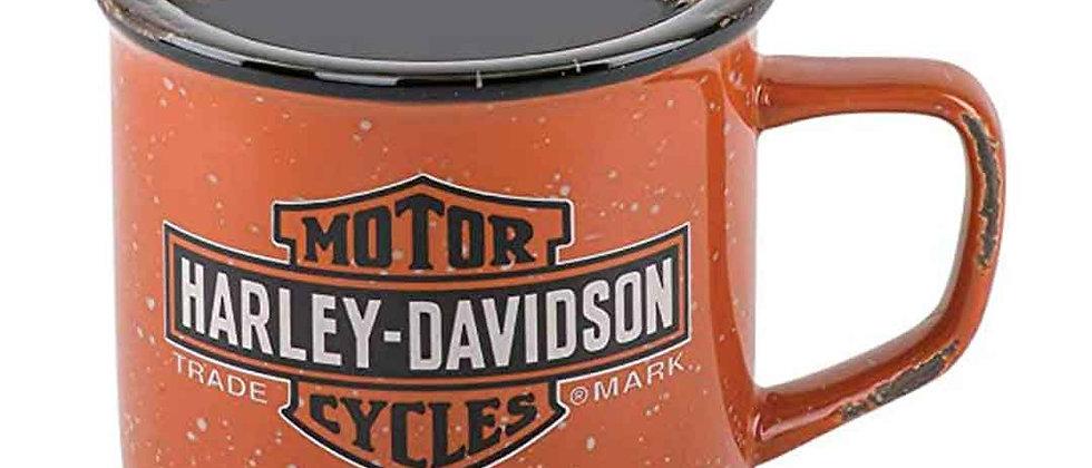 Harley-Davidson® Trademark Bar & Shield Logo Fogata Taza