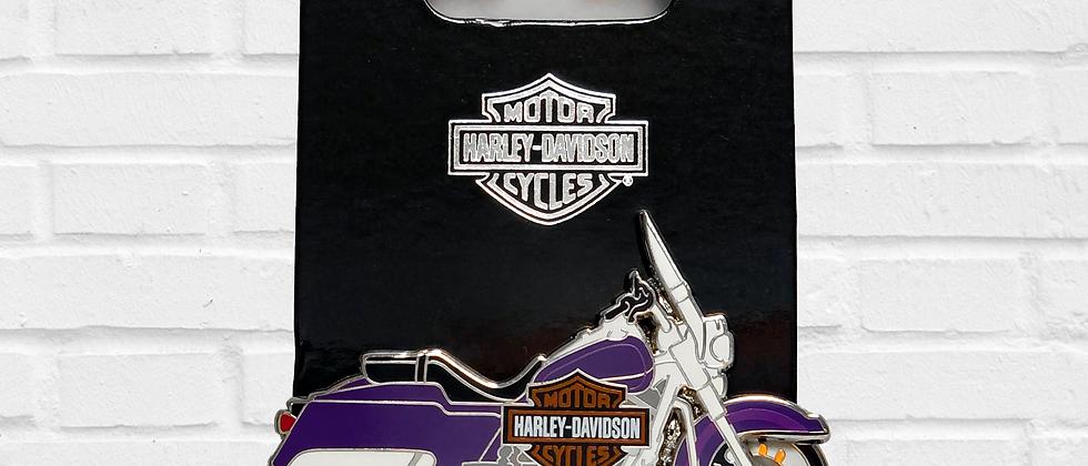 PIN PURPLE MOTORCYCLE