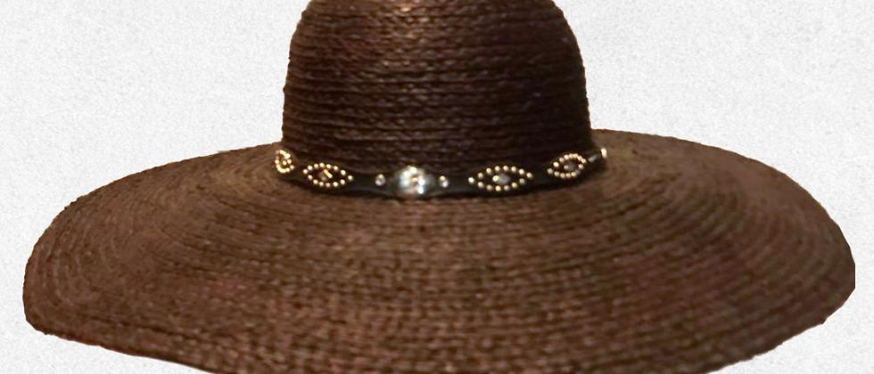 Harley-Davidson® Sombrero de paja cafe oscuro