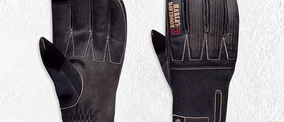 GLOVES FF EXHORT LEATHER  BLK