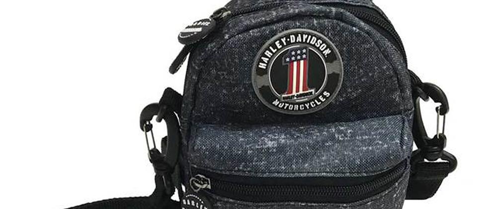 Harley-Davidson® Blue Rain Collection Mini-Me Small Backpack