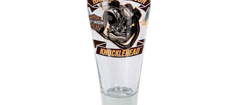 Harley-Davidson® Engine Series Pilsner Set - Knucklehead, 14 oz.