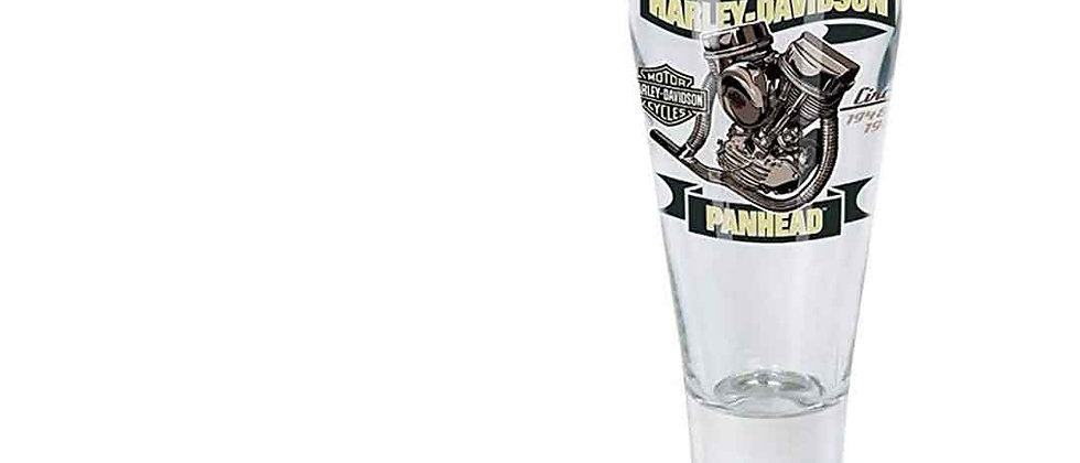 Harley-Davidson® Engine Series Pilsner Set - Panhead Graphic, 14 oz.