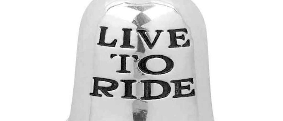 LIVE TO RIDE RIDE BELL