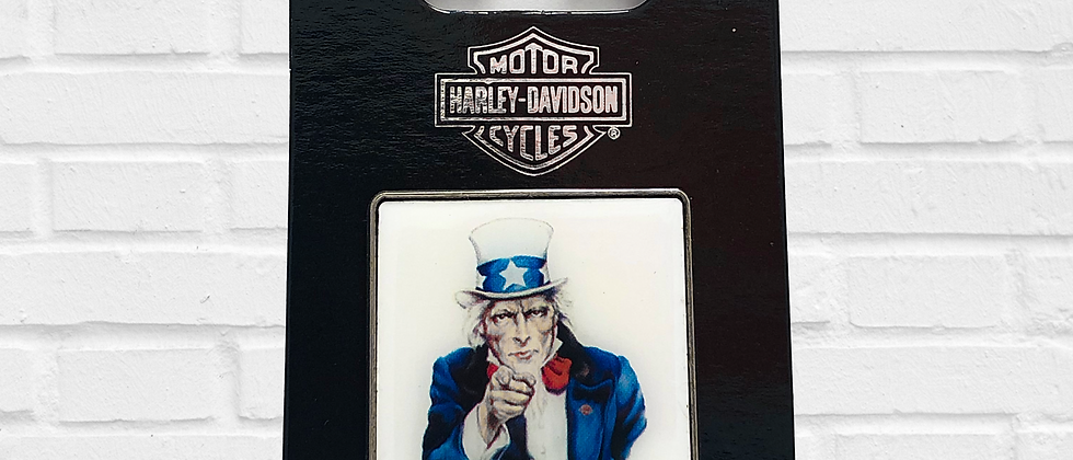 PIN I WANT YOU ON HARLEY