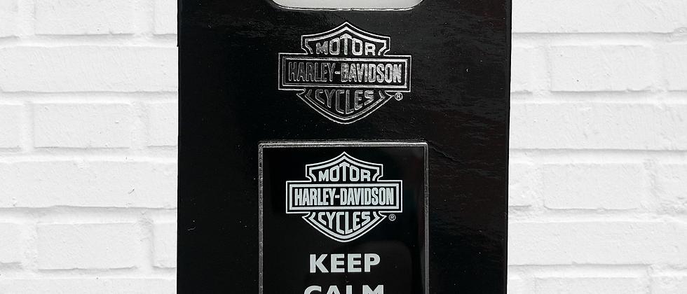 PIN KEEP CALM AND RIDE ON HARLEY-DAVIDSON