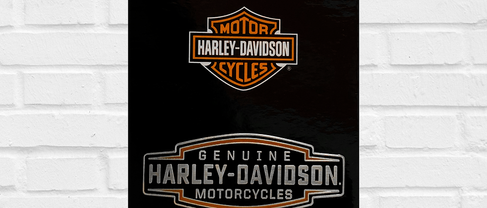 PIN GENUINE HARLEY-DAVIDSON MOTORCYCLES