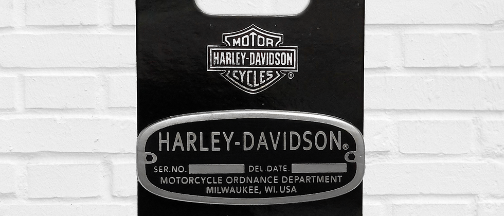 PIN HARLEY-DAVIDSON MOTORCYCLES ORDNANCE