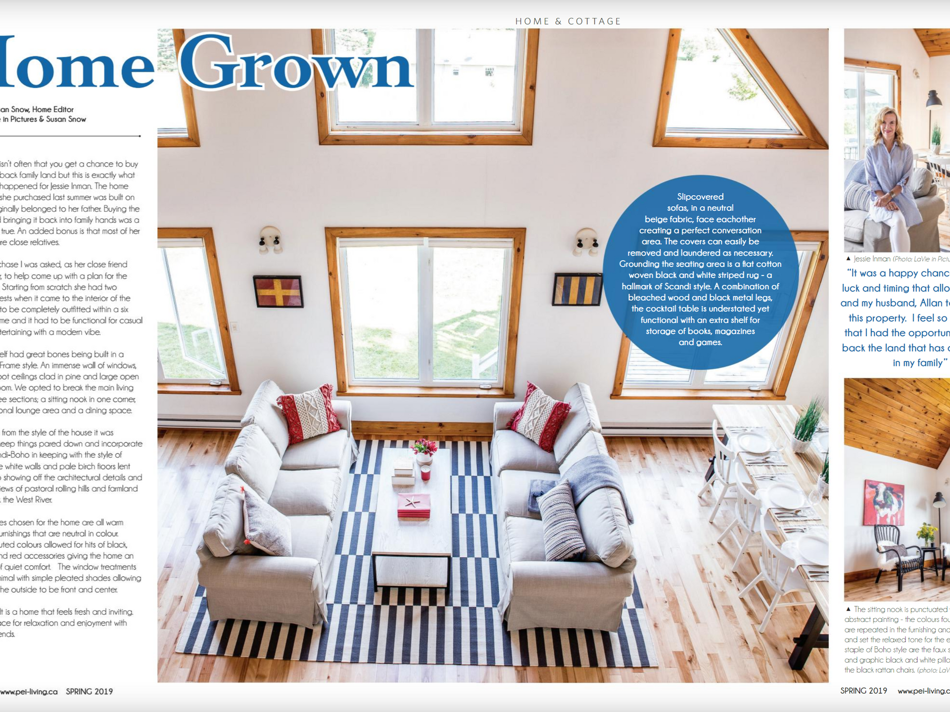 PEI Living Magazine Spring 2019 issue