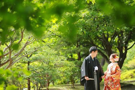 中島公園和裝外影