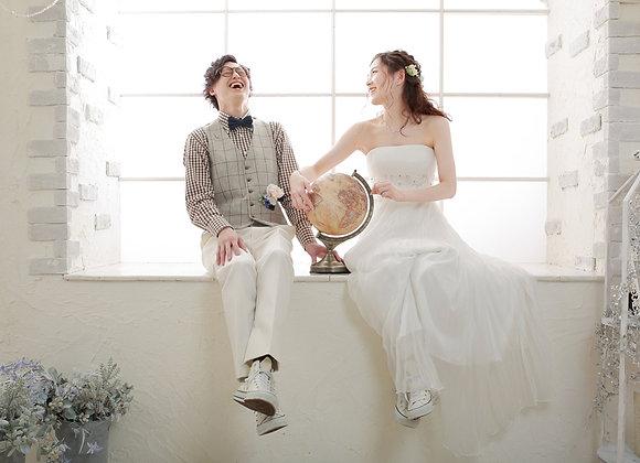 【預約訂金】札幌本館和洋裝2套連相冊STUDIO PLAN