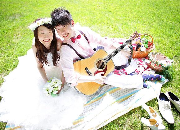 【預約訂金】婚紗禮服札幌市內外景場地1所