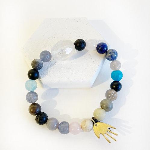 Bracelet - Blue & Grey