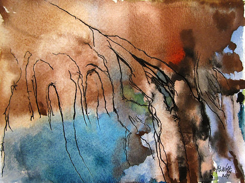 """Branches I, 9"""" x 12"""""""
