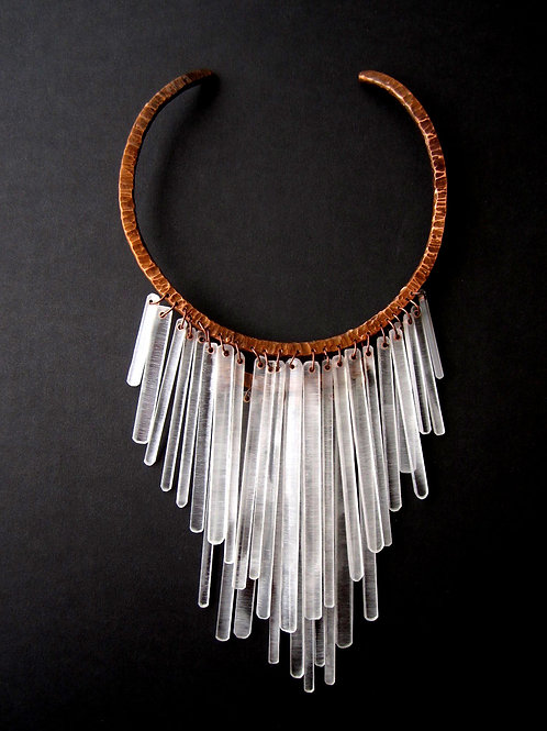 Necklace - Clear Acrylic