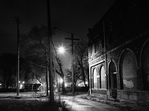 "Abandoned Street, 16"" x 20"""
