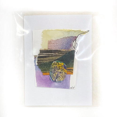 """Original Art Card - Rebirth, 4"""" x 6"""""""