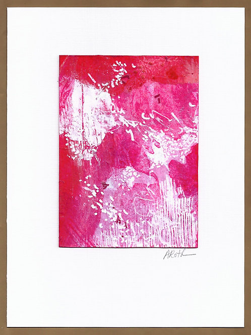 "Original Art Card #21, 5"" x 7"""