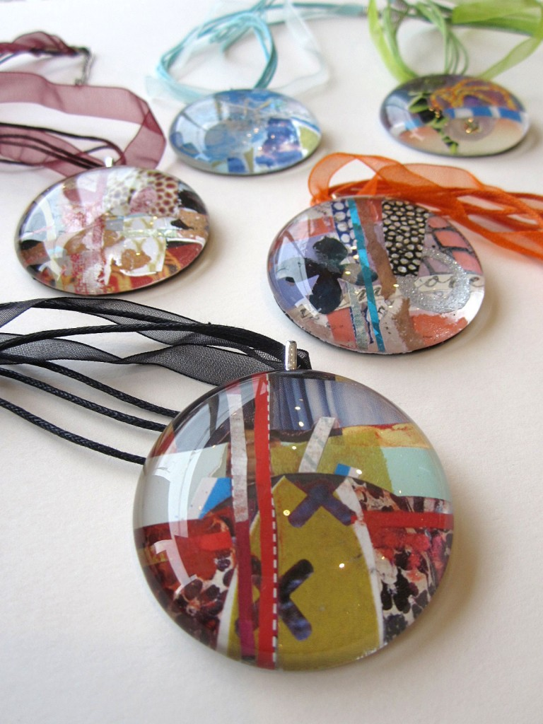 Large_Circle_Collage_Pendants_#1549,_Julie_Bell_–_$55