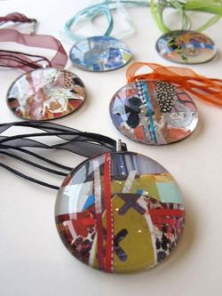 Large_Circle_Collage_Pendants_#1549,_Julie_Bell_–_$55