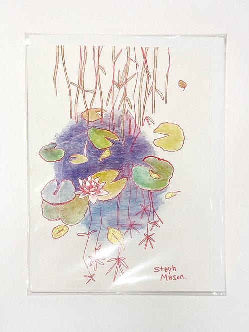 "Original Art Card 3, 5"" x 7"""