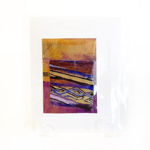 "Original Art Card - Burnished Sand, 4"" x 6"""
