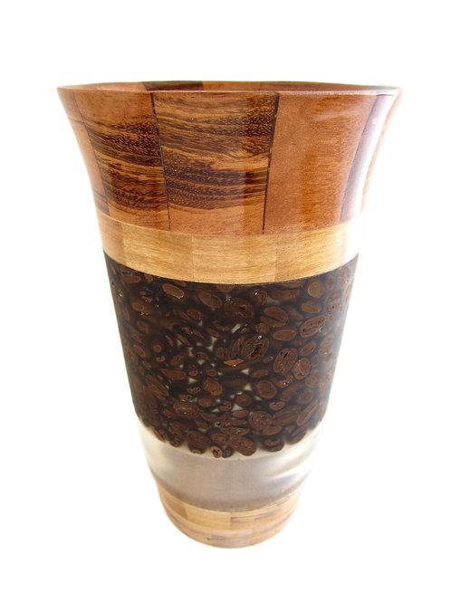 """Coffee Vase, 5"""" x 8"""""""