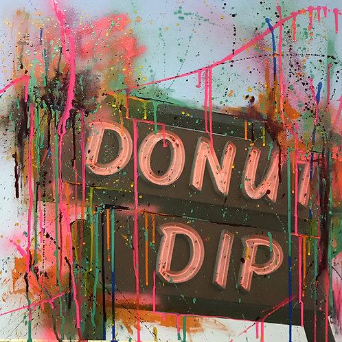 "Donut Dip, 24"" x 24"""
