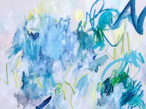 """The Story Of Blue, 30"""" x 40"""""""
