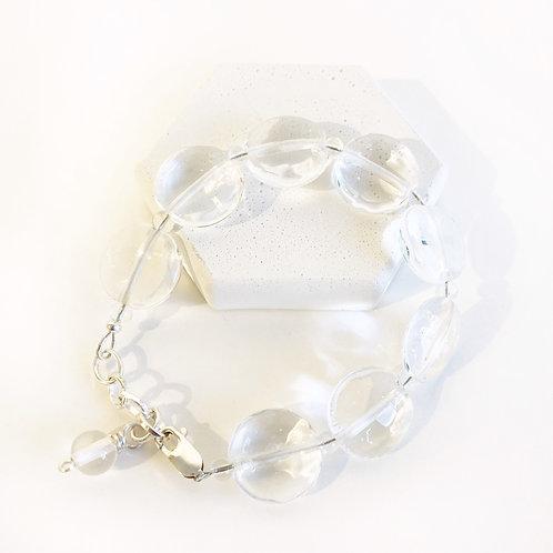 Lampwork Bracelet - Clear