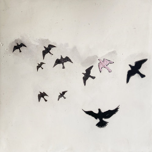 """Let Her Fly, 8"""" x 8"""""""
