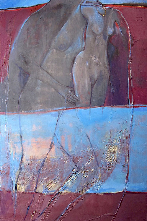 """The Mystery Of Healing Water, 36"""" x 60"""""""