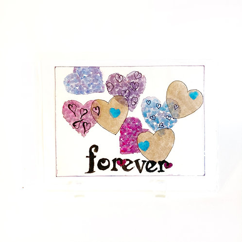 "Original Art Card - Forever 1, 5"" x 7"""