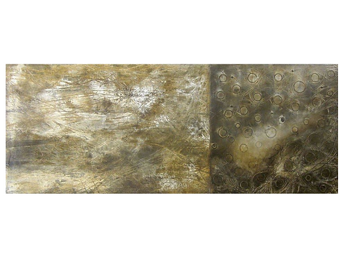 """Disjointed, 16"""" x 40"""""""