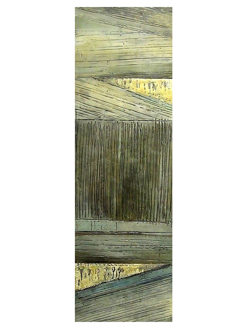 "Barn Window, 12"" x 36"""
