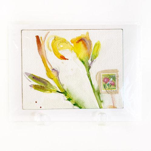 "Original Art Card #49, 5"" x 7"""