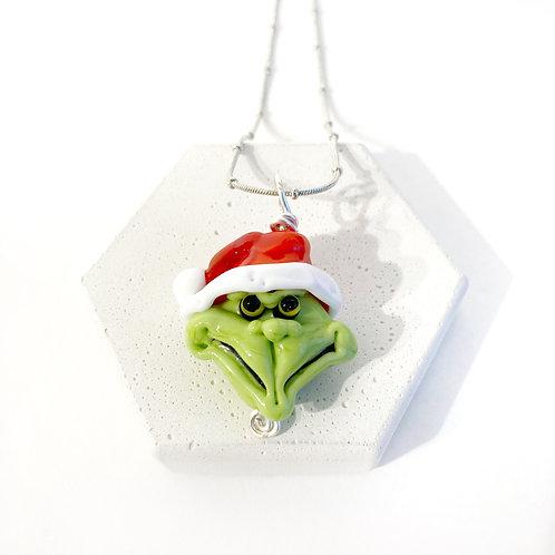 Seasonal Pendant - Grinch