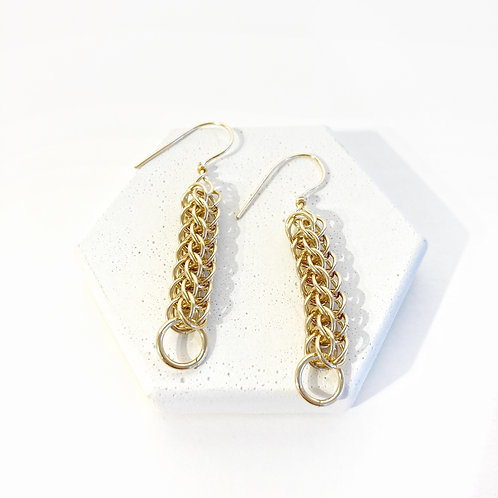 Earrings - Gold Full Persian